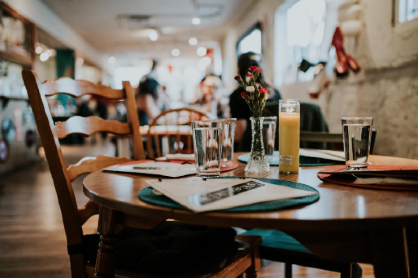 Coffee Shop Table
